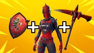 RED KNIGHT IS BACK! (Fortnite: Battle Royale) [Red Knight Skin, Crimson Axe + Red Shield] *NEW*