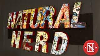 Comic Book LED Sign || DIY