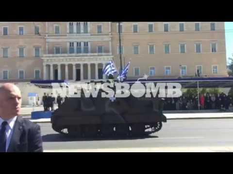 newsbomb.gr: Τεθωρακισμένα στην παρέλαση