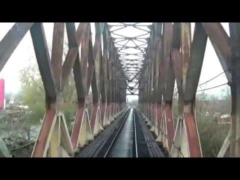 Railway Beograd- Sid, part I, Cab. ride Beograd- Ruma