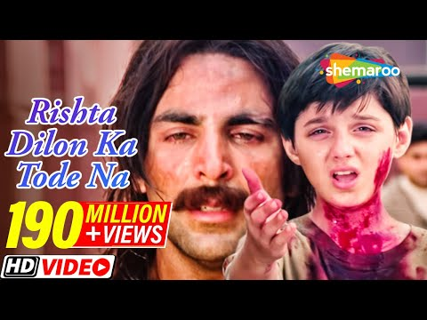 Rishta Dilon Ka Tode Na Toote - Jaanwar - Akshay Kumar -Shilpa Shetty - Sunidhi Chauhan - Gold songs thumbnail