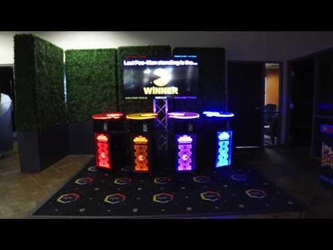 Giant 4 Player Pacman Battle Royale Arcade Game Rental