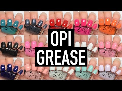 OPI - Grease | Swatch and Review