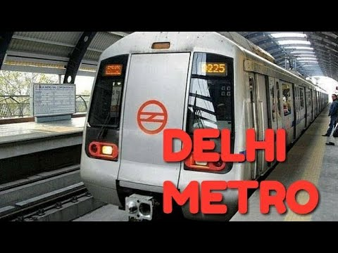 Delhi Metro   Journey From Aero city to Vaishali   Via Rajiv chowk   INDIA