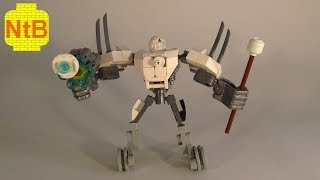 LEGO NINJAGO custom EVIL NRG ZANE MECH