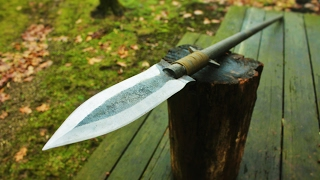 Making a HUNTING SPEAR From a Leaf spring