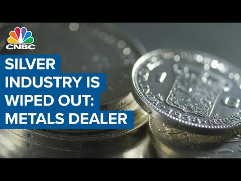 Entire silver industry is wiped out: Online precious metals dealer