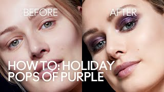 HOW TO: Holiday Pops of Purple | MAC Cosmetics