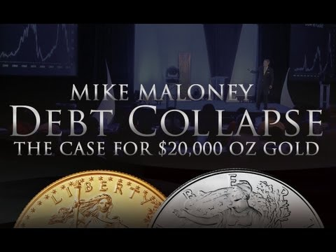 The Case for $20,000 oz Gold - Debt Collapse - Mike Maloney