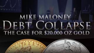 The Case for $20,000 oz Gold - Debt Collapse - Mike Maloney - Silver & Gold(Find Mike's latest videos here: http://HiddenSecretsOfMoney.com Why Gold & Silver: http://youtu.be/E5VNAEmmBQM For more visit us at: http://GoldSilver.com ..., 2011-08-17T02:16:39.000Z)
