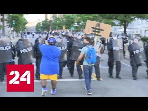 Протесты в США расширяются, несмотря на комендантский час - Россия 24