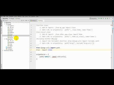 Blog in Python/Django || Bangla tutorial part-2(VIEW)