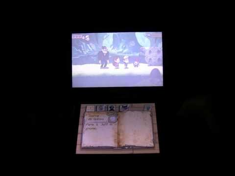 Gravity Falls 3DS : First 30 min / GAMEPLAY footage Off-Screen