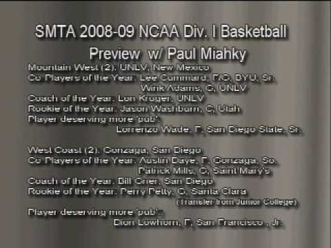 So Much to Talk About: 2008-09 NCAA Basketball Preview-Pt. 6 of 9