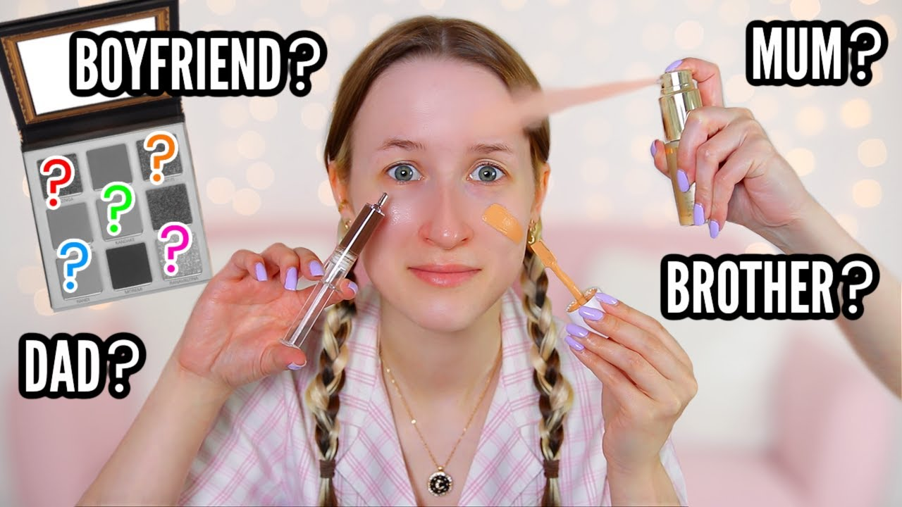 My ENTIRE FAMILY Buy My Full Face Of Makeup… *who bought the best products?*