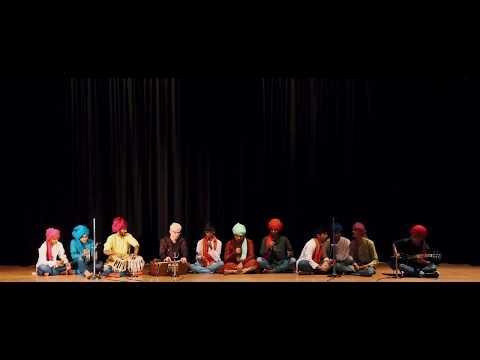Indian folk music...people singing in groups and enjoying....