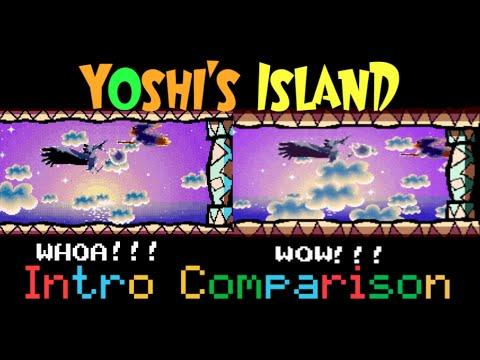 Yoshi S Island Advance Differences