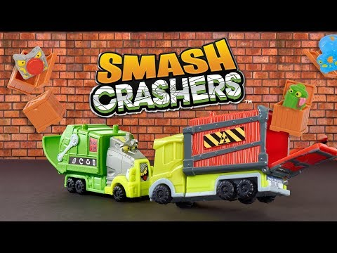 Crash and Collect with Just Play's Smash Crashers! | A Toy Insider Play by Play