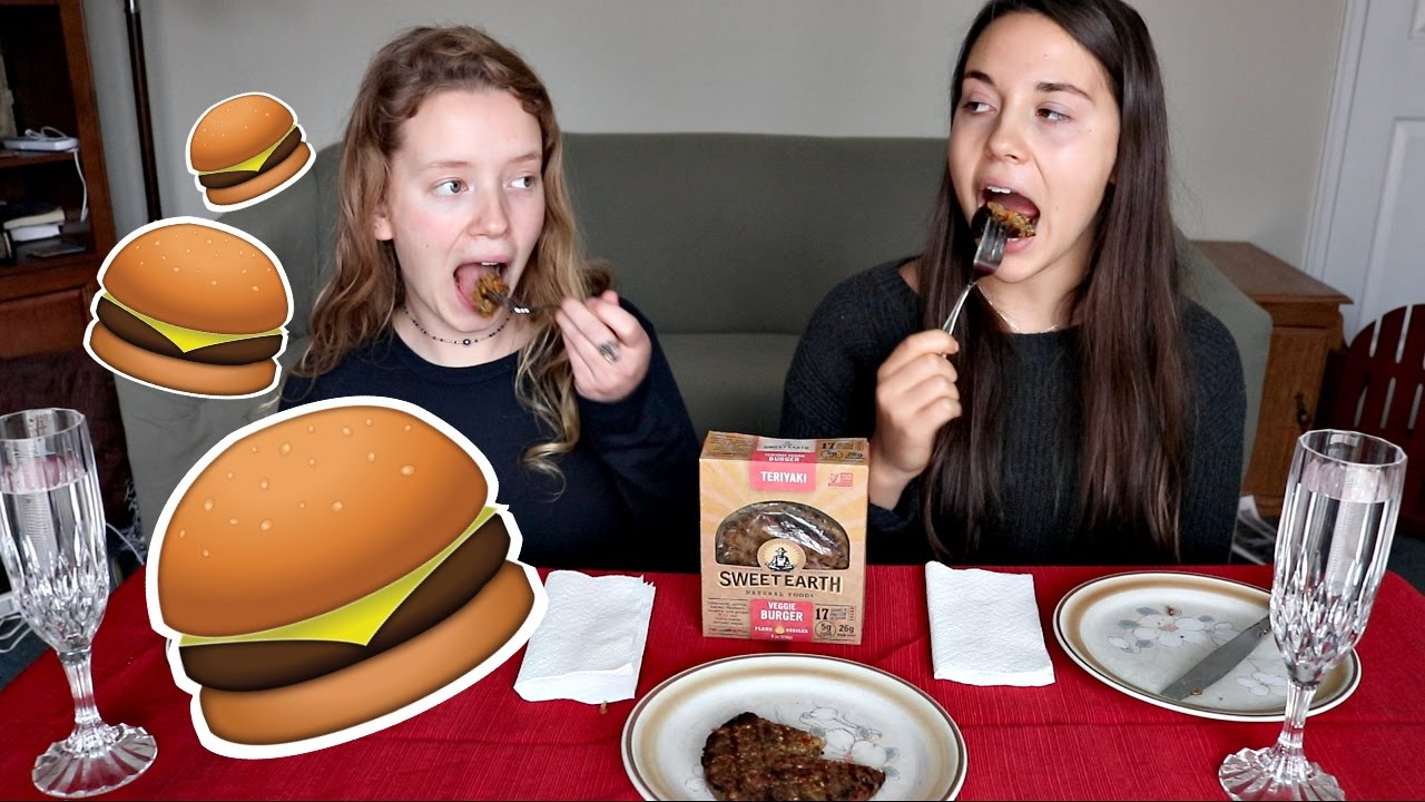 TASTE TEST: Vegans Trying Burgers