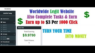 Earn Upto $25 Daily Without investment PAIDERA