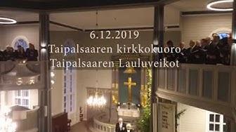 Taipalsaaren kirkko itsenäisyyspäivä 6.12.2019