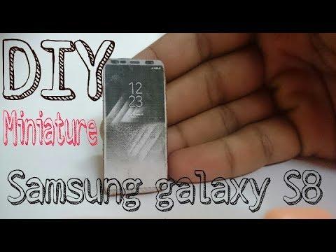 DIY Miniature Samsung Galaxy S8 | Realistic | Top Gear Miniatures