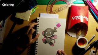Speed Drawing: Dark Chao | Birthday Present