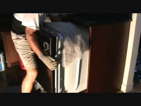 how to remove a dishwasher made easy youtube. Black Bedroom Furniture Sets. Home Design Ideas