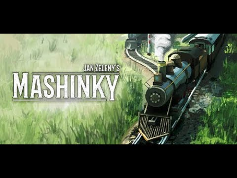 Let's Try: Mashinky - A transport strategy game about trains.