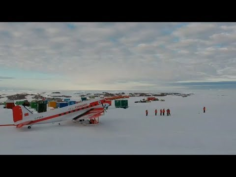 China's Antarctic expedition spends New Year's Eve under the midnight sun at the Zhongshan Station