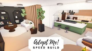 Aesthetic Sage Green Home Speed Build  Roblox Adopt Me!