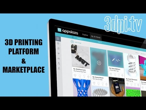 Appaloza 3D Printing E-Commerce Marketplace