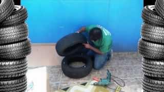 Мебель из шин. Как сделать пуф своими руками(Поделки своими руками из старых автомобильных шин и покрышек, мебель для дома и дачи своими руками, мебель..., 2014-06-05T13:18:44.000Z)