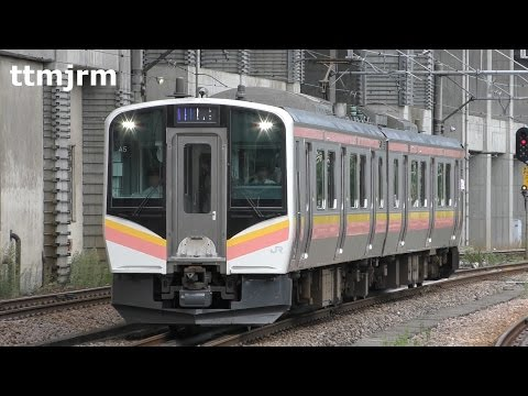 JR上越線E129系越後湯沢駅発着/JR E129 Series at Joetsu Line Echigo-yuzawa Sta./2016.09.07