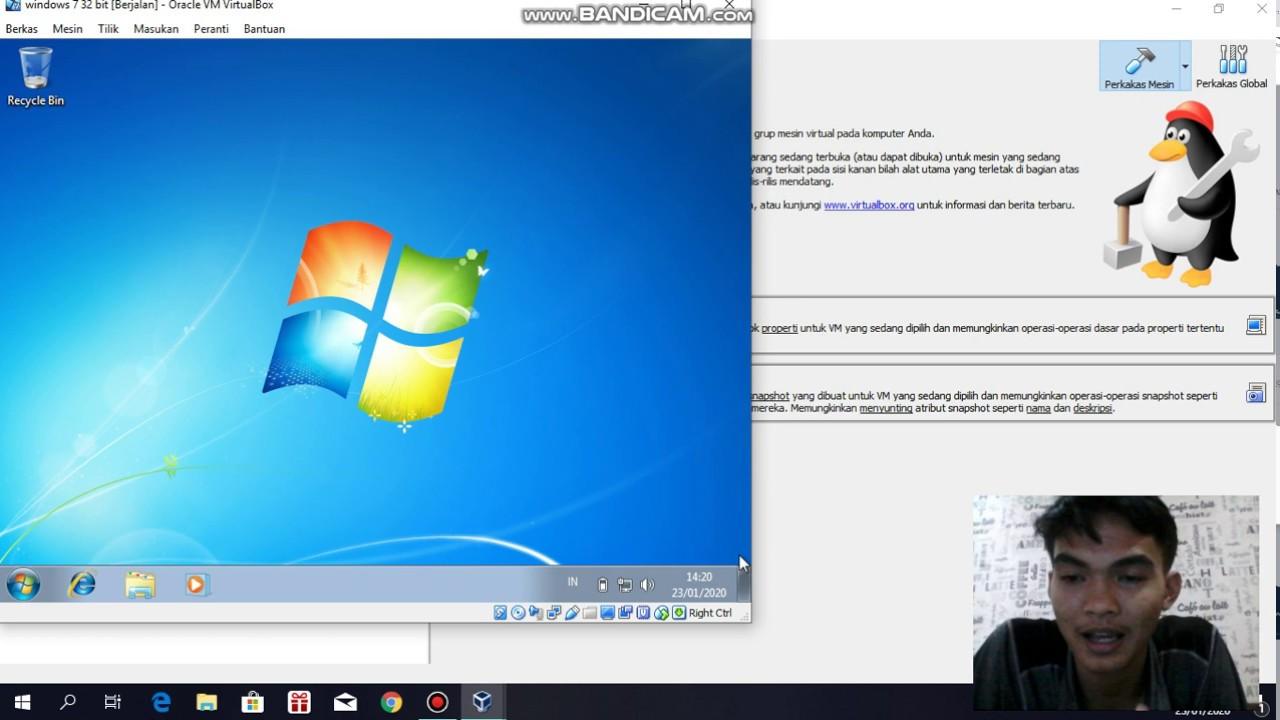 cara instal ulang windows 7 - YouTube