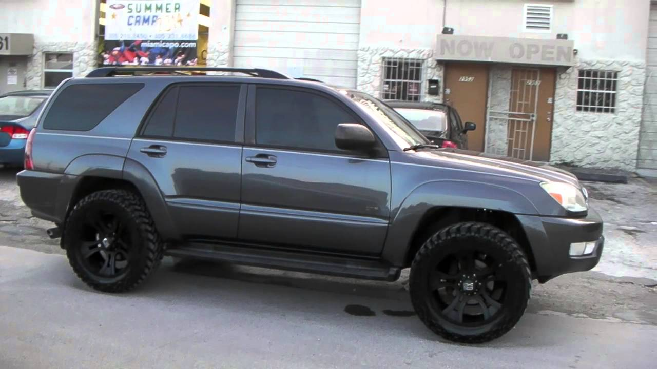 "Toyota 4Runner Wheels >> DUBSandTIRES.com 20"" Inch XD Series Crank Black Rims 2005 Toyota 4 Runner Nitto Trail Grappler ..."