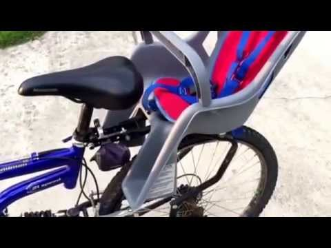 Bell Classic Child Carrier For Bikes. This Child Bicycle Seat Is Easy To  Use And Fun. Fit Most Bikes   YouTube
