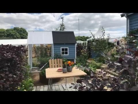 Live från Copenhagen Garden 2017 -OdlingsTV livestreaming ! 8 Showgardens trädgård have odlings