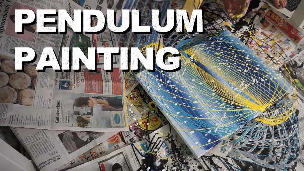 Exploring Pendulum Painting