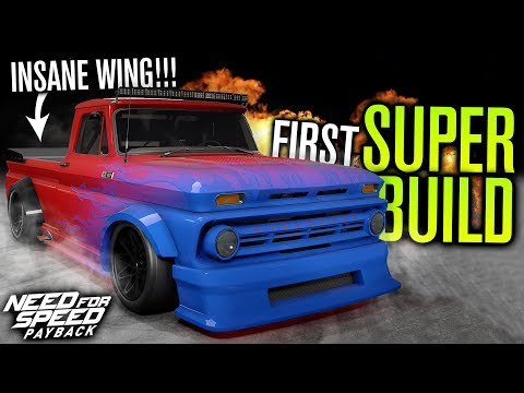 FIRST SUPER BUILD... INSANE WING!!! | Need For Speed Payback
