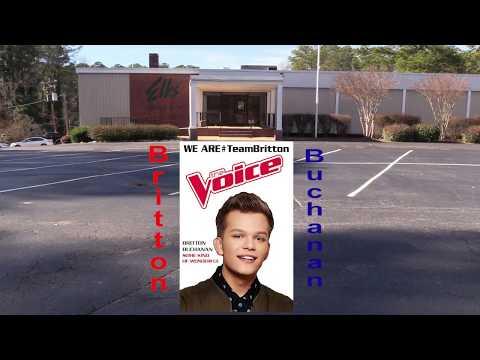 The Voice Britton Buchanan Farewell Show BPOE Jan 5 2019
