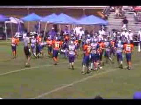 2007 Klein Jr Broncos Byrne 1st TD of Season