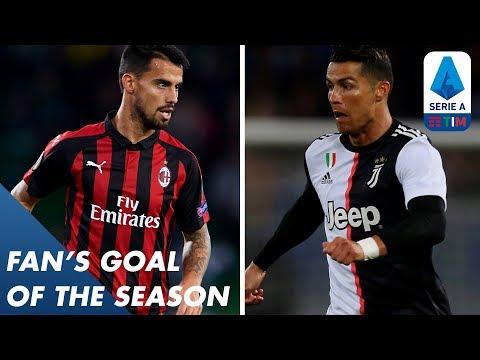 Fan's Goal of the Season   Group G   Serie A