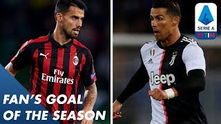Fan's Goal of the Season | Group G | Serie A
