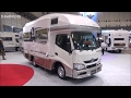 The new Japanese big Campers キャンピングカー