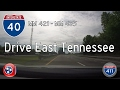 TN: Interstate 40 East from MM421 to MM435