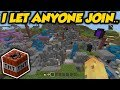 I Set My Minecraft Realm To Public For A Week & This Happened