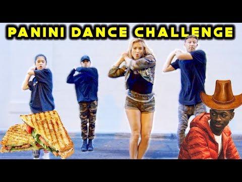 PANINI DANCE CHALLENGE ft Ranz & Niana + Montana Tucker