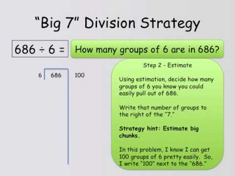 Big 7 Division Strategy - YouTube