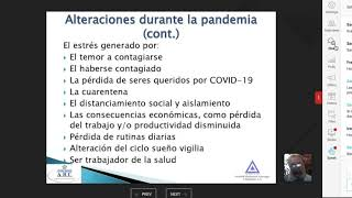 Depresion Ansiedad y Suicidio en la época del COVID19 SMNP Plática 5